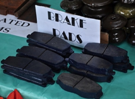 Brake Pads From Agricultural Waste
